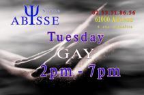 Sauna Club Abysse : Tuesday gay