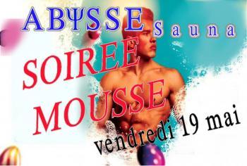 Sauna Club Abysse Alençon - Soirée gay : Foam party - 2017-05-19T17:00:00 to 2017-05-19T23:59:00