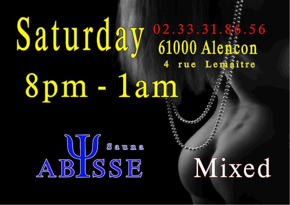 Sauna Club Abysse : Saturday mixed