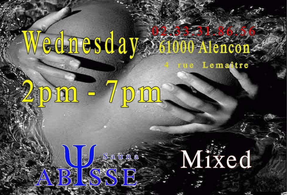 Sauna Club Abysse : Wednesday mixed