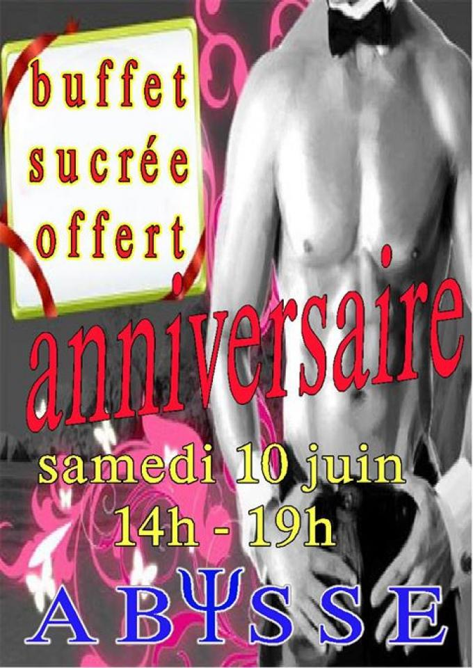 Sauna Club Abysse Alençon - Gay : Birthday Party - 2017-06-10T14:00:00 to 2017-06-10T19:00:00